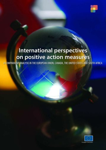 International perspectives on positive action measures - European ...
