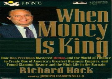 [+]The best book of the month When Money Is King  [NEWS]