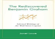 [+]The best book of the month The Rediscovered Benjamin Graham: Selected Writings of the Wall Street Legend  [FREE]