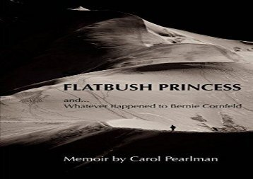 [+][PDF] TOP TREND FLATBUSH PRINCESS: and, What Ever Happened to Bernie Cornfeld  [FULL]