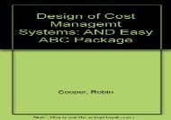 [+][PDF] TOP TREND Design Of Cost Managemt Systs Easy Abc P: AND Easy ABC Package  [DOWNLOAD]