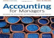 [+][PDF] TOP TREND Accounting for Managers: Interpreting Accounting Information for Decision Making  [FULL]