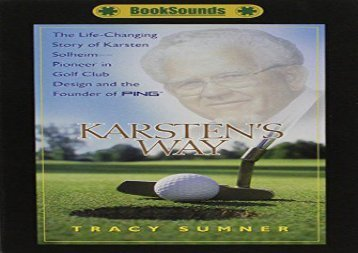 [+]The best book of the month Karsten s Way  [FULL]