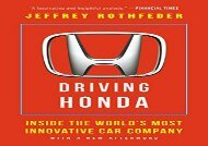 [+][PDF] TOP TREND Driving Honda: Inside the World s Most Innovative Car Company [PDF]