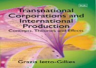 [+][PDF] TOP TREND Transnational Corporations and International Production: Concepts, Theories and Effects  [DOWNLOAD]