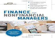 [+]The best book of the month Finance for Nonfinancial Managers, Second Edition (Briefcase Books Series) (Briefcase Books (Paperback))  [FREE]
