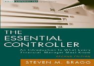 [+]The best book of the month The Essential Controller: An Introduction to What Every Financial Manager Must Know, 2nd Edition (Wiley Corporate F A)  [FULL]