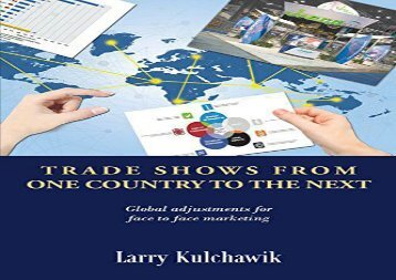 [+][PDF] TOP TREND Trade Shows From One Country To The Next  [READ]