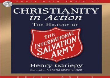 [+][PDF] TOP TREND Christianity in Action: The International History of the Salvation Army  [NEWS]
