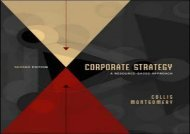 [+][PDF] TOP TREND Corporate Strategy: A Resource-based Approach  [FREE]