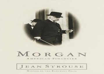 [+]The best book of the month Morgan: a Biography [PDF]