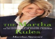 [+][PDF] TOP TREND The Martha Rules  [FULL]