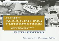 [+][PDF] TOP TREND Cost Accounting Fundamentals: Fifth Edition: Essential Concepts and Examples  [FULL]