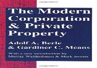 [+]The best book of the month The Modern Corporation and Private Property  [NEWS]