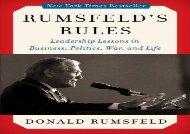 [+][PDF] TOP TREND Rumsfeld s Rules [PDF]