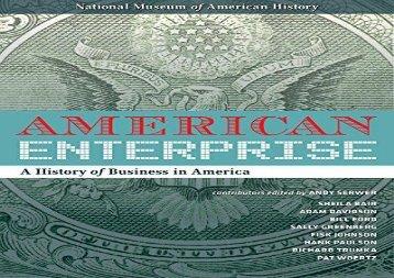 [+][PDF] TOP TREND American Enterprise: A History of Business in America [PDF]