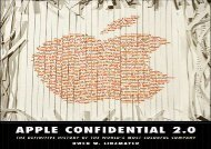 [+]The best book of the month Apple Confidential 2.0: The Definitive History of the World s Most Colorful Company: The Real Story of Apple Computer, Inc. [PDF]