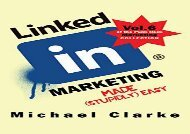 [+]The best book of the month LinkedIn Marketing Made (Stupidly) Easy [PDF]