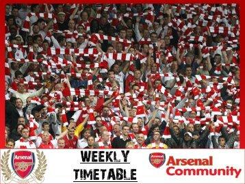 Arsenal Licensing Opportunity - Arsenal.com