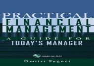 [+]The best book of the month Practical Financial Management: A Guide for Today s Manager (Essentials (John Wiley))  [NEWS]