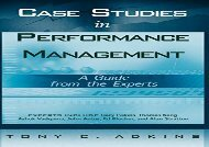 [+]The best book of the month Case Studies Performance Mgmt: A Guide from the Experts (Wiley and SAS Business Series)  [READ]
