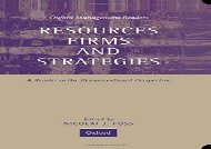 [+]The best book of the month Resources, Firms, and Strategies: A Reader in the Resource-Based Perspective (Oxford Management Readers)  [FULL]