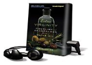 [+][PDF] TOP TREND Extra Virginity: The Sublime and Scandalous World of Olive Oil [With Earbuds] (Playaway Adult Nonfiction)  [DOWNLOAD]