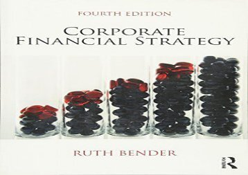 [+][PDF] TOP TREND Corporate Financial Strategy  [FREE]