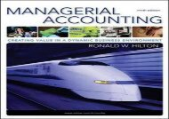 [+][PDF] TOP TREND Managerial Accounting  [NEWS]