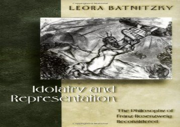[+][PDF] TOP TREND Idolatry and Representation: The Philosophy of Franz Rosenzweig Reconsidered  [NEWS]