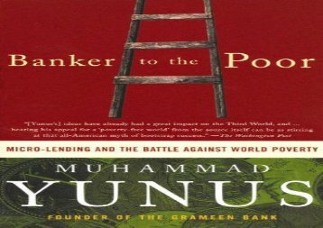 [+][PDF] TOP TREND Banker to the Poor: Micro-Lending and the Battle Against World Poverty  [READ]