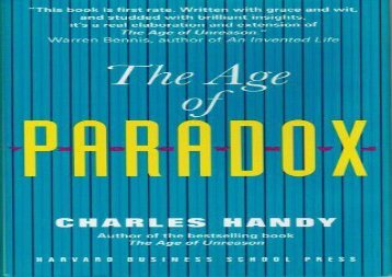 [+]The best book of the month The Age of Paradox  [DOWNLOAD]