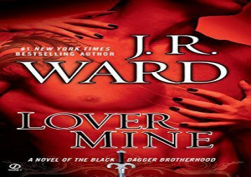 [+]The best book of the month Lover Mine: A Novel of the Black Dagger Brotherhood  [NEWS]