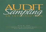[+]The best book of the month Audit Sampling 5e: An Introduction  [DOWNLOAD]