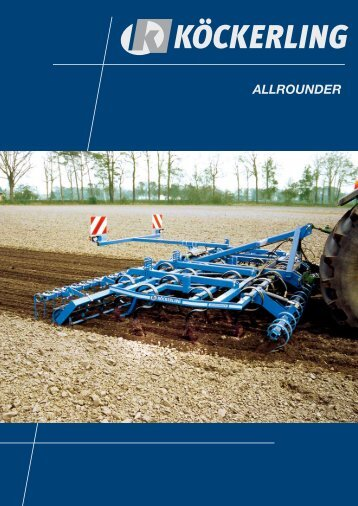ALLROUNDER The Universal machine for stubble cultivation and ...
