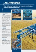 ALLROUNDER The Universal machine for stubble cultivation and ... - Page 2