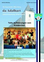 da Adalhart - Marktgemeinde Allhartsberg