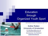 Power sport participation in boys, aged 11 to 13 yrs, at T1 and T3