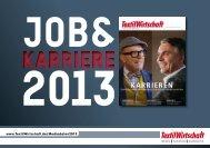 Job & Karriere 2013 (PDF) - TextilWirtschaft