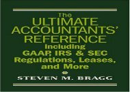 [+][PDF] TOP TREND Ultimate Accountants  Reference Including Gaap, IRS and SEC Regulations, Leases, Pensions and More  [DOWNLOAD]