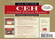 [+][PDF] TOP TREND CEH Certified Ethical Hacker Bundle, Third Edition (All-In-One)  [DOWNLOAD]