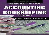 [+]The best book of the month Complete Dictionary of Accounting   Bookkeeping Terms Explained Simply  [NEWS]