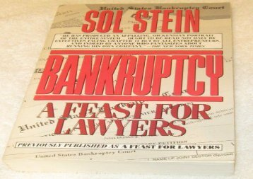 [+]The best book of the month Bankruptcy: A Feast for Lawyers [PDF]