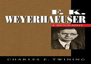 [+]The best book of the month F. K. Weyerhaeuser  [DOWNLOAD]