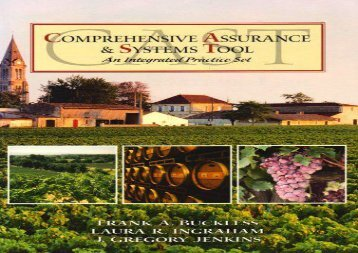 [+]The best book of the month Comprehensive Assurance and Systems Tool - An Intergrated Practice Set  [FREE]