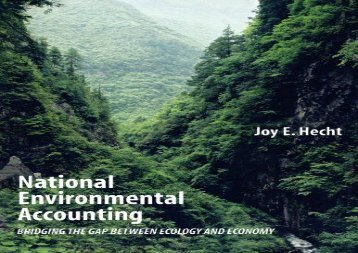 [+][PDF] TOP TREND National Environmental Accounting: Bridging the Gap between Ecology and Economy  [NEWS]
