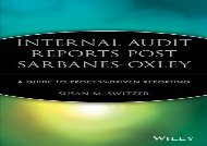 [+][PDF] TOP TREND Internal Audit Reports: A Guide to Process-driven Reporting (IIA (Institute of Internal Auditors) Series)  [FULL]