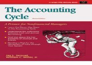[+]The best book of the month The Accounting Cycle: A Primer for Nonfinancial Managers (50-Minute Series)  [READ]