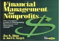 [+]The best book of the month Financial Management for Nonprofits: The Complete Guide to Maximizing Resources and Managing Assets  [DOWNLOAD]