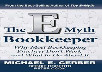 [+][PDF] TOP TREND The E-Myth Bookkeeper  [FULL]